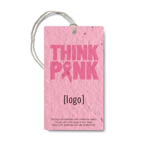 "BCA Seed Paper Product Tag, 2"" x 3.5"""