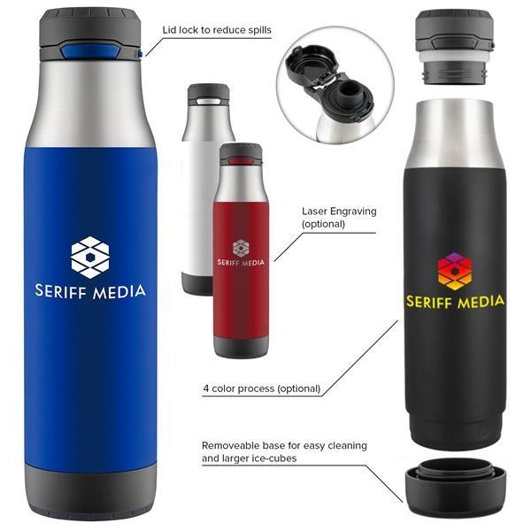 24 oz Zulu  Vacuum Stainless Bottle