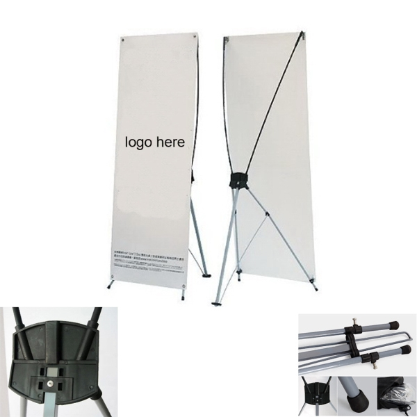 Windproof X-Banner Display Stand