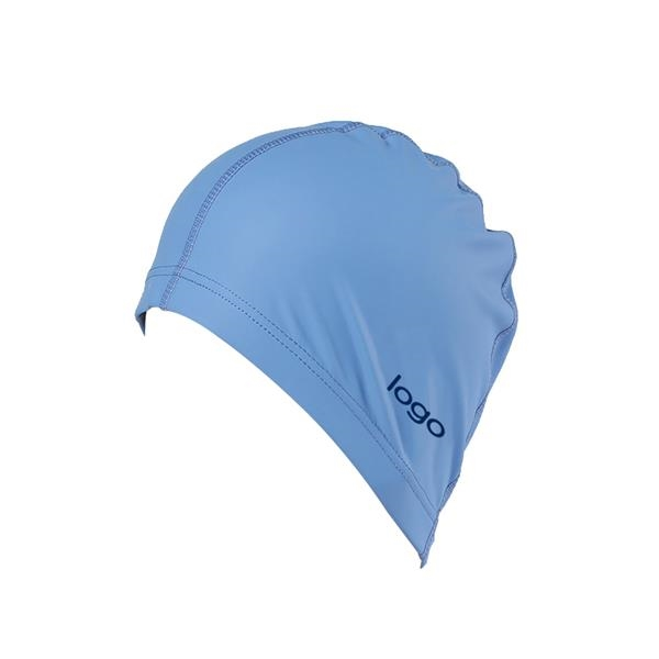 Swimming Hat with PU Coat for Adult Men Women