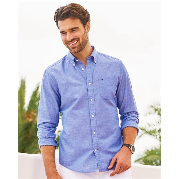 Tommy Hilfiger Cotton/Linen Shirt