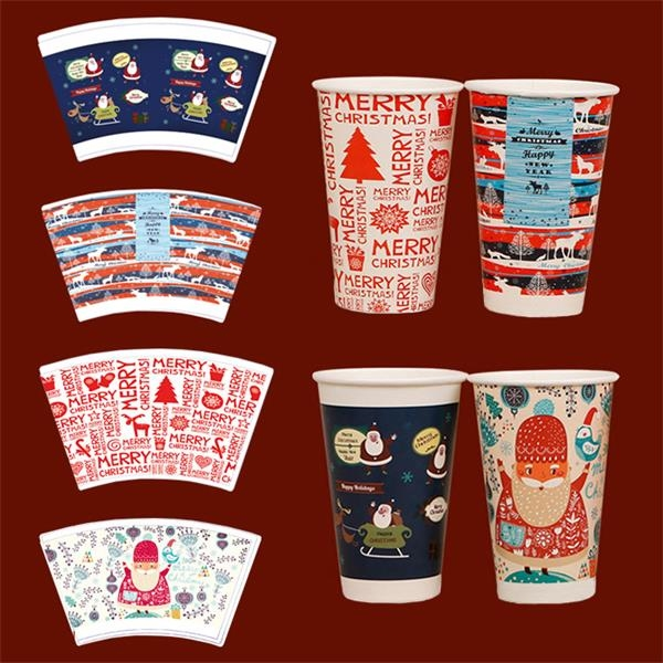 Custom Disposable Paper Cup with Lid
