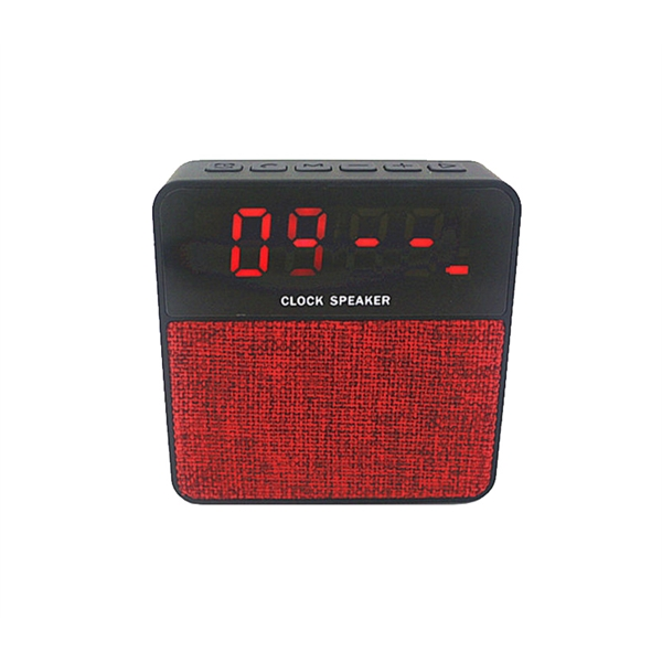 Alarm Clock Fabric Speaker