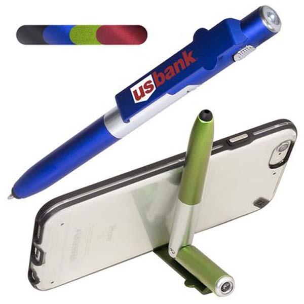4 in 1 Multi-Purpose Stylus Pen
