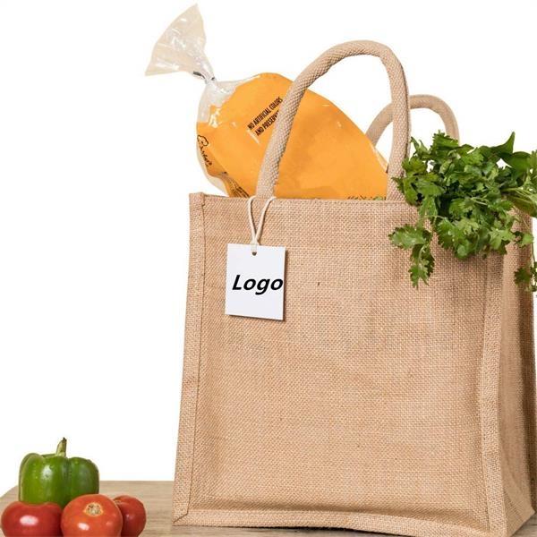 Burlap Reusable Bag