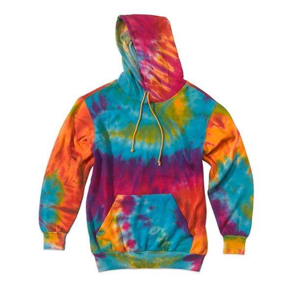 MV Sport Classic Fleece Tie-Dye Hooded Sweatshirt