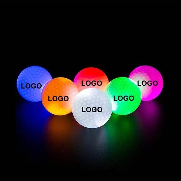 LED Golf Balls