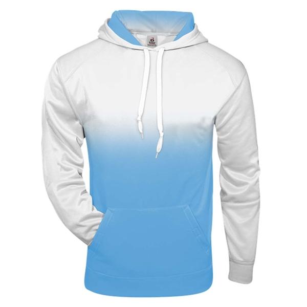 Badger Ombre Hooded Sweatshirt
