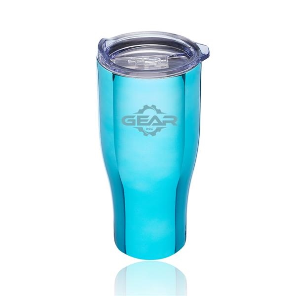 27 oz. Metallix Grip Travel Mugs