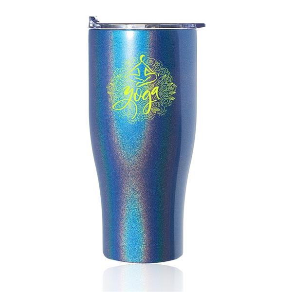 27 oz. Iridescent Stainless Steel Travel Mugs