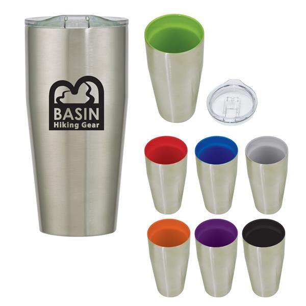 18 Oz. Anderson Ceramic Stainless Steel Tumbler