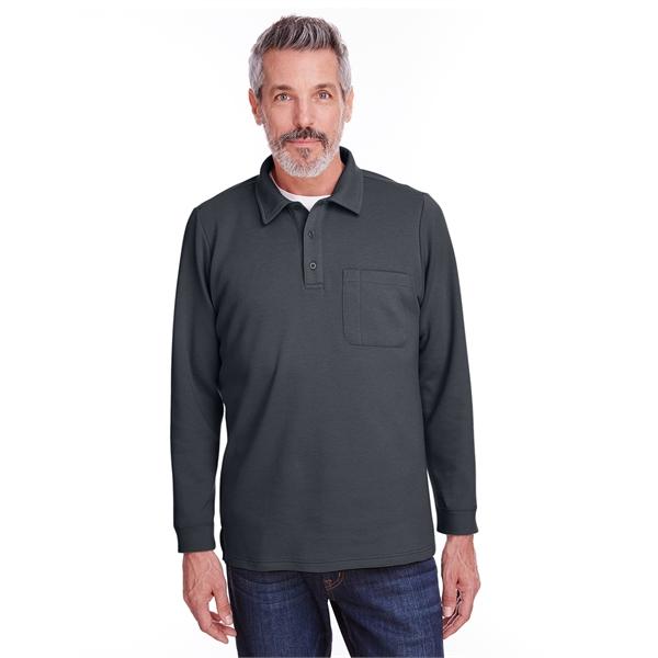 Harriton Adult StainBloc™ Pique Pullover Fleece