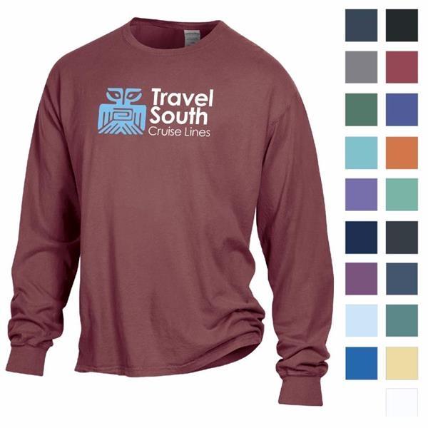 ComfortWash™ by Hanes Garment Dyed Long Sleeve Tee