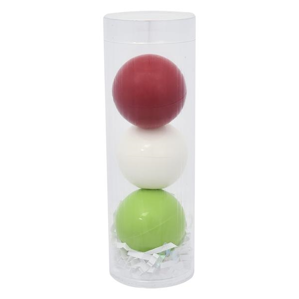 3-Piece Lip Moisturizer Ball Tube Gift Set