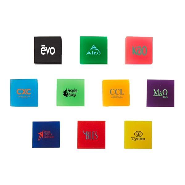 Square Translucent Erasers