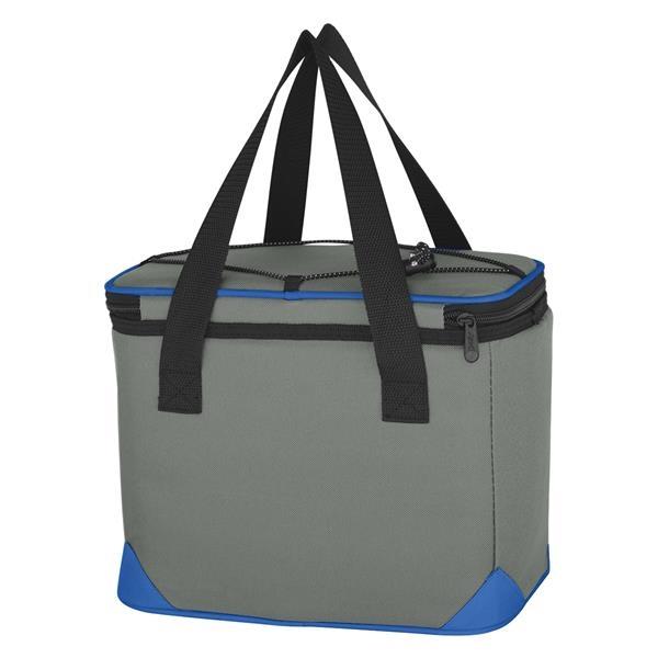 """Bolt Kooler Bag - Bolt Kooler Bag.  Made of 600 Denier Polyester.  Large Zippered Main Compartment and Front Pocket.  PEVA Lining.  20"""" Handles."""