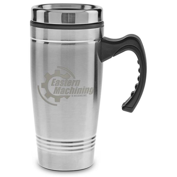 Stainless Steel with Plastic Liner - Laser Etched