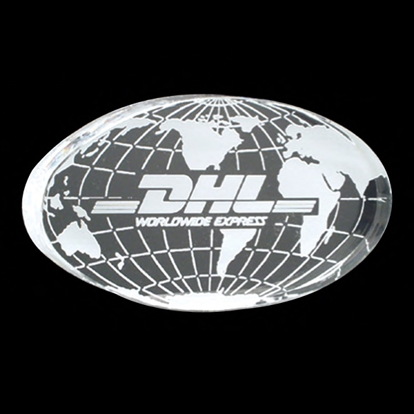 Globe Shape Acrylic Award