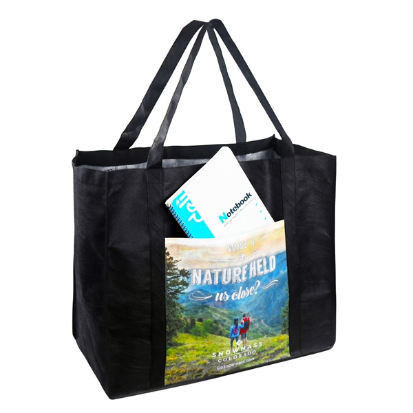 Full Color Tote bag with 10