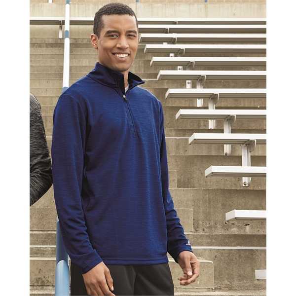 Russell Athletic Striated Quarter-Zip Pullover