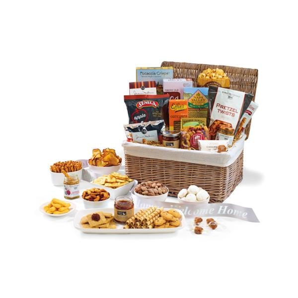 Gourmet Delights Keepsake Basket