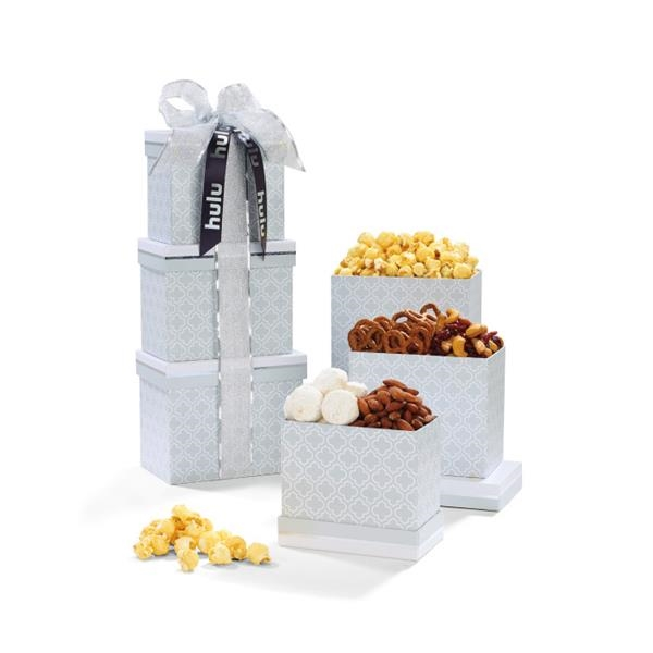 Sophisticated Gourmet Treats Tower