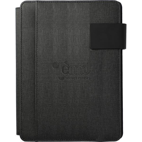Titus UL Listed 5000 mAh Wireless Charging Journal