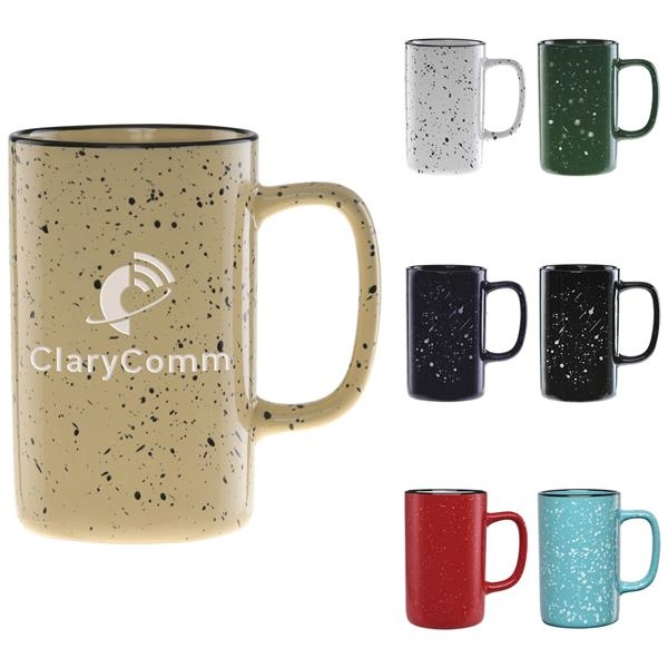 Tall Camper Collection Mug - Deep Etched