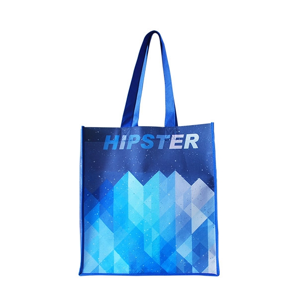 Full Color Tote Bags Non Woven Glossy Gr