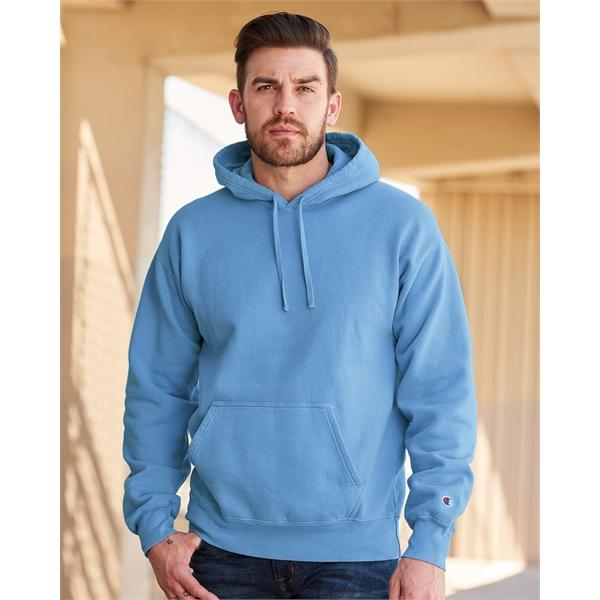 Champion Garment Dyed Hooded Sweatshirt