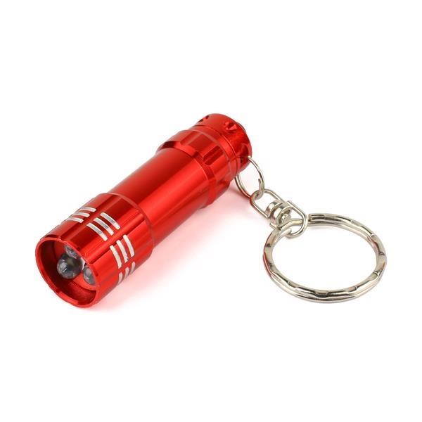 Muti color Portable Mini Pocket LED Torch 3 Lamps Flashlight