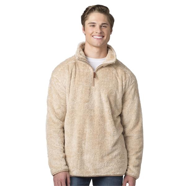 Boxercraft Fuzzy Fleece Quarter Zip Pullover