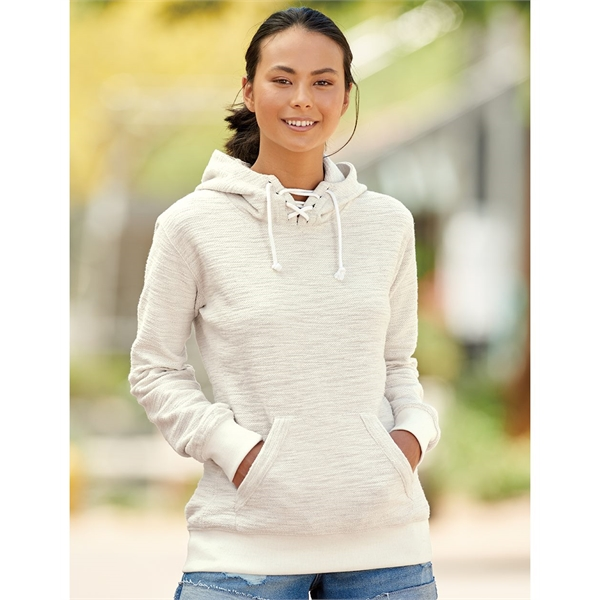 J. America Women's French Terry Sport Lace Scuba Hooded P...