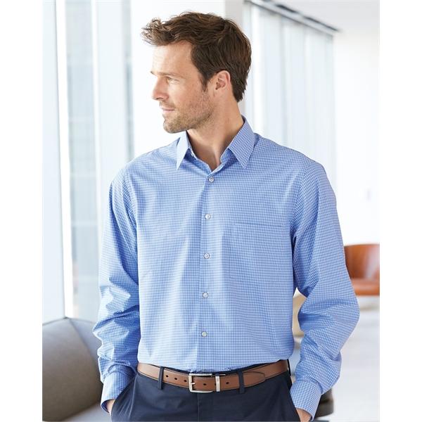 Van Heusen Broadcloth Point Collar Check Shirt