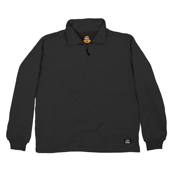 Berne Men's Grout Thermal Lined Quarter Zip Shirt