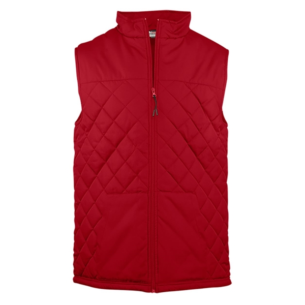 Badger Youth Quilted Vest