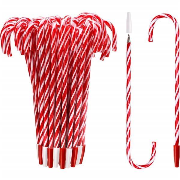 Christmas Gift Santa Claus Ball Point Pen Crutch