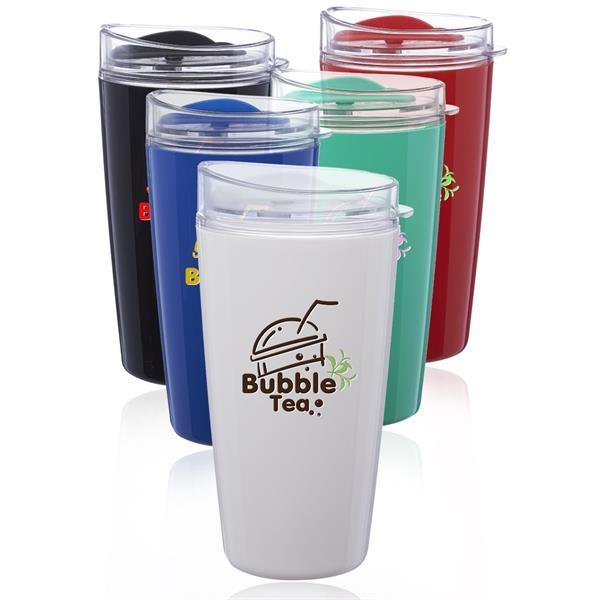 16 oz. Verano Plastic Coffee Tumbler