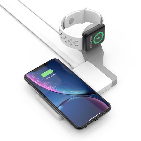 PowerPad Desktop Wireless Charger & Watch Charger Dock