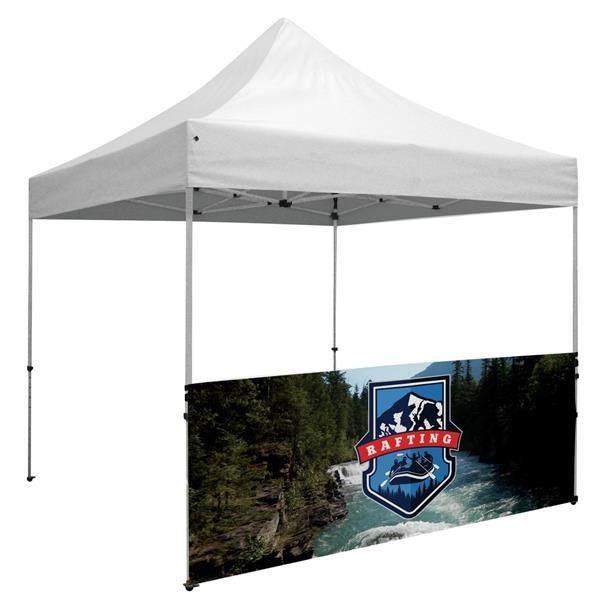 Standard 10' Tent Half Wall Kit (Dye-Sublimated, 1-Sided)