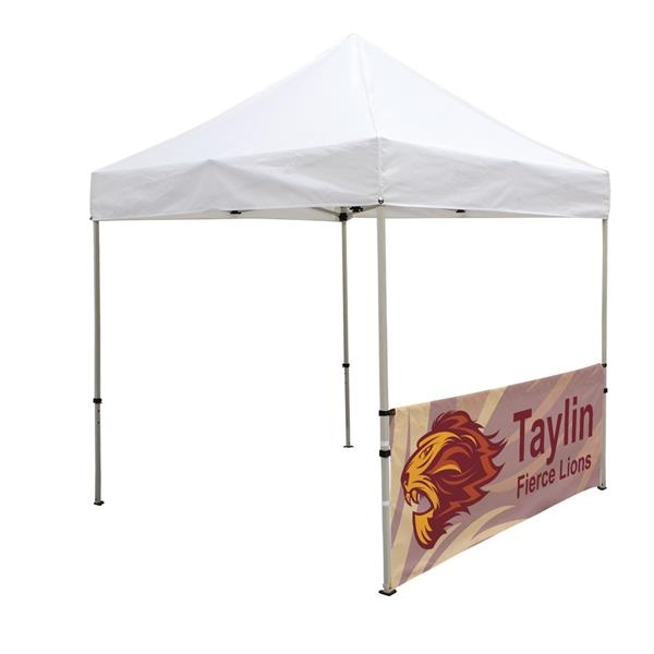 Deluxe 8' Tent Half Wall Kit (Dye-Sublimated, 1-Sided)