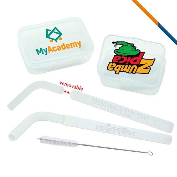 Calisto Silicone Straws