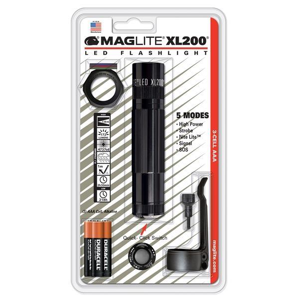 Maglite® XL200 3 AAA LED Flashlight