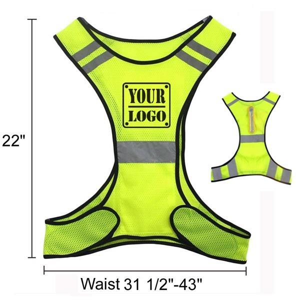 LED Reflective Safety Vest