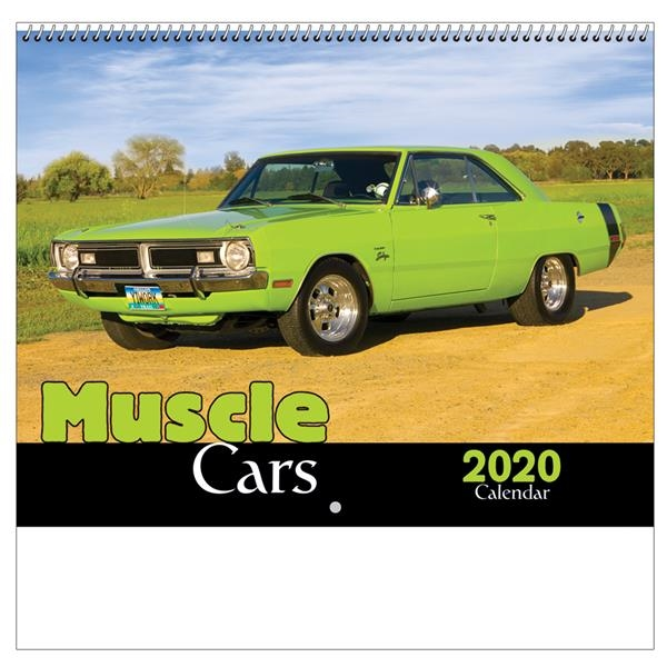 2020 Muscle Cars Wall Calendar - Spiral