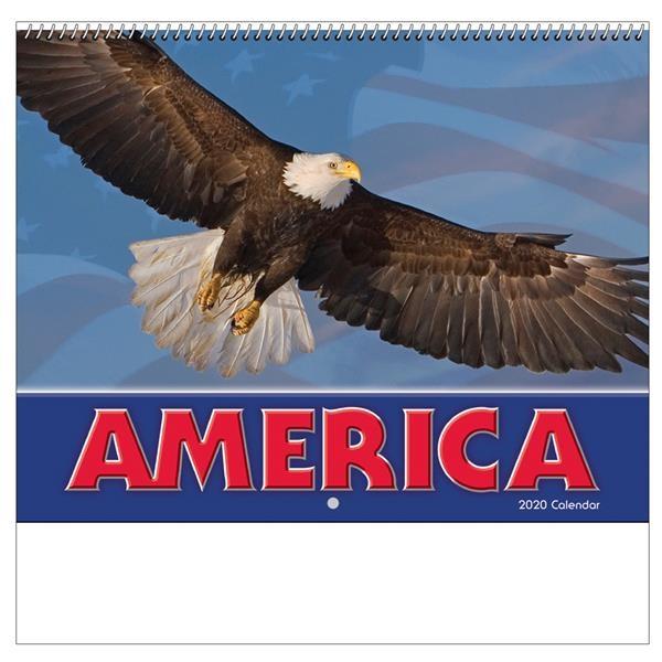 2020 America! Wall Calendar - Spiral