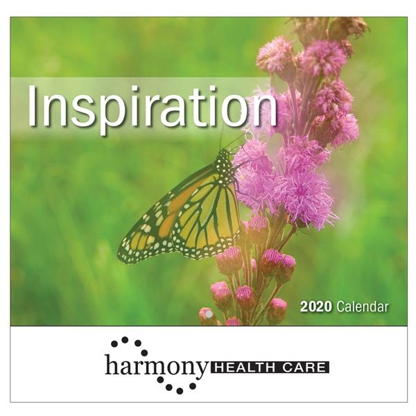 2020 Inspiration Wall Calendar - Stapled