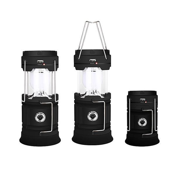 Portable Lantern USB Charging LED Solar COB Camping Light