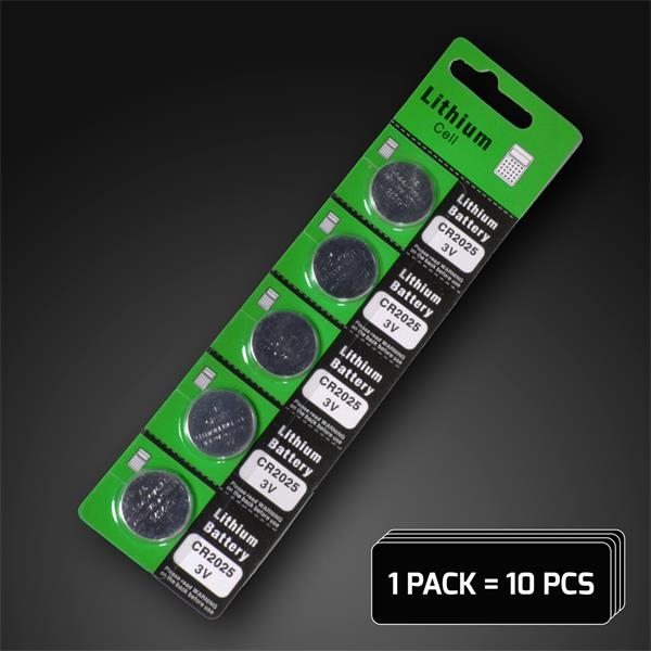 Carded batteries