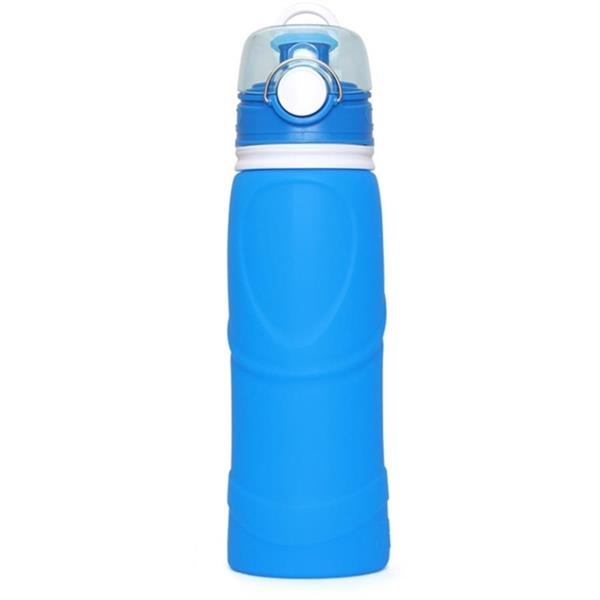 Foldable Silicone Water Bottle, 25 oz.